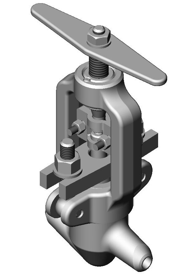 Клапан игольчатый 10с-5-1