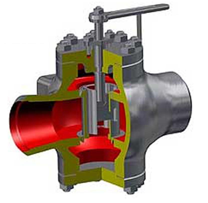 Клапан регулирующий уровень конденсата в ПВД с электроприводом